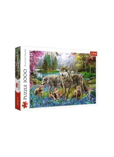 Art Puzzle Art Puzzle Lupine Family 1000 Parça Puzzle  Renksiz
